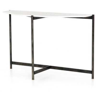 "Adair 48"" Console Table- White - Perigold"