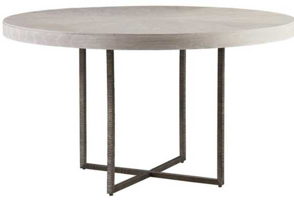 Robards Round Dining Table, Ivory - Lulu and Georgia