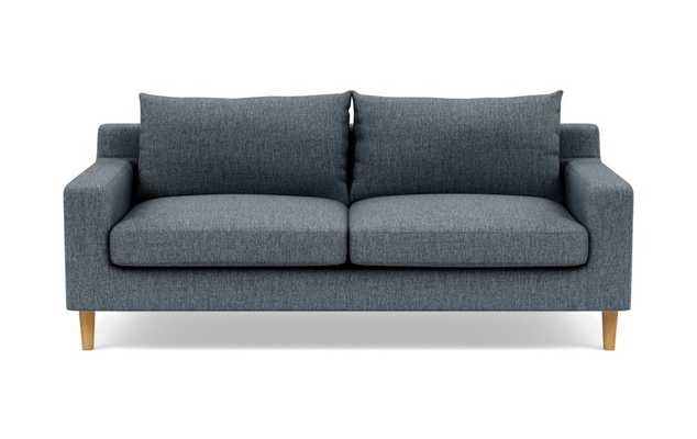 Sloan Sofa with Rain Fabric and Natural Oak legs - Interior Define