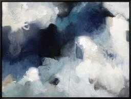 "Blues By Kari Taylor, 56"" x 42"", Black Framed Canvas - art.com"