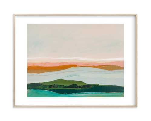 Abstract Seascape Pt Reyes, California 30 x 40 - Minted