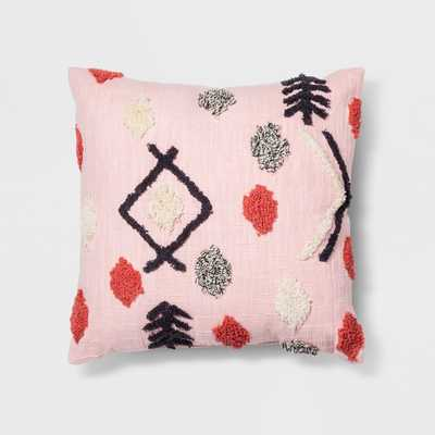 Pink Tufted Throw Pillow - Opalhouse™ - Target
