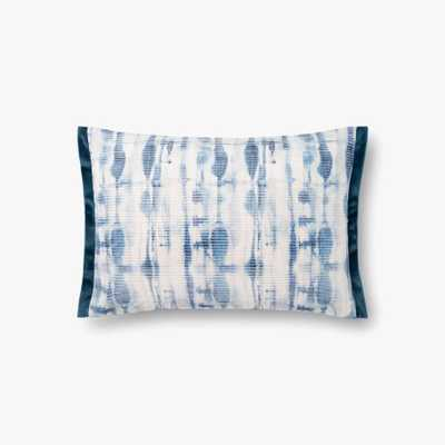 P0844 JB Blue Pillow w/ Poly Fill - Loma Threads