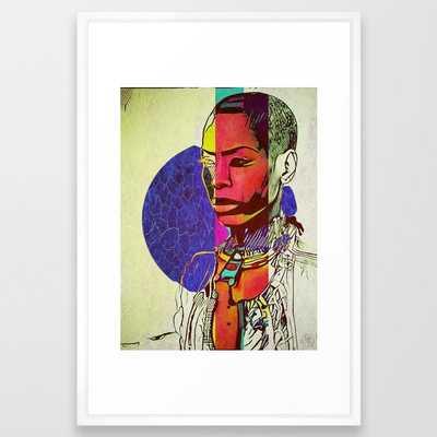 Royal Badu Framed Art Print - Society6