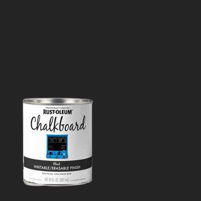 Rust-Oleum Specialty 30 oz. Black Chalkboard Paint - Home Depot