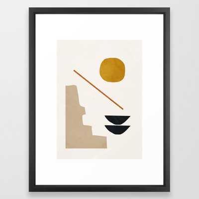 Abstract Minimal 6 Framed Art Print - 20 x 26 - Society6