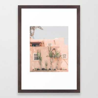 "Vintage Los Angeles Framed Art Print 15 x 21"" - Society6"