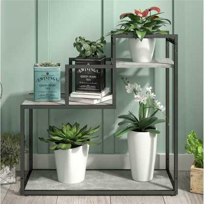 Weston Rectangular Multi-Tiered Plant Stand - Wayfair
