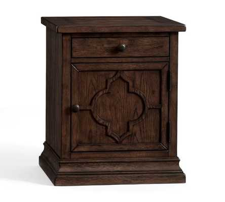Lorraine End Table, Rustic Brown - Pottery Barn