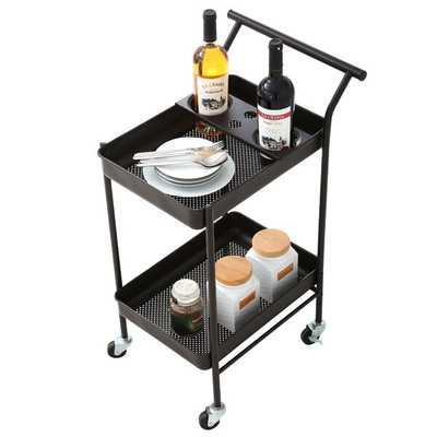 Shipton Metal Bar Cart - Wayfair