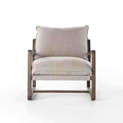 Ace Chair- Cobblestone Jute - Burke Decor