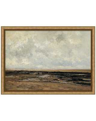 VILLERVILLE BEACH Framed Art - McGee & Co.