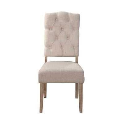 Colborne Side Chairs (Weathered Natural) (Set of 2) - Wayfair