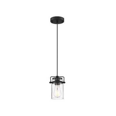 Chriopher 1-Light Lantern Jar Pendant - Wayfair