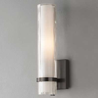 WAVE PATTERN MINI-WALL SCONCE - Shades of Light