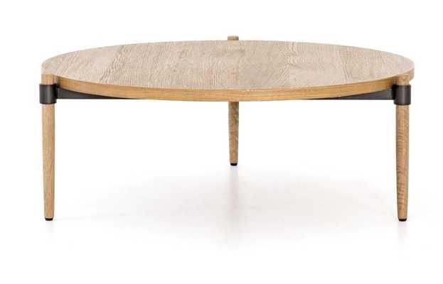 Holmes Coffee Table in Smoked Drift Oak by BD Studio - Burke Decor