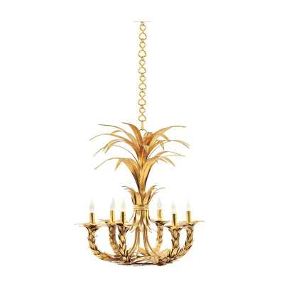 Orleans 6 - Light Candle Style Empire Chandelier - Perigold