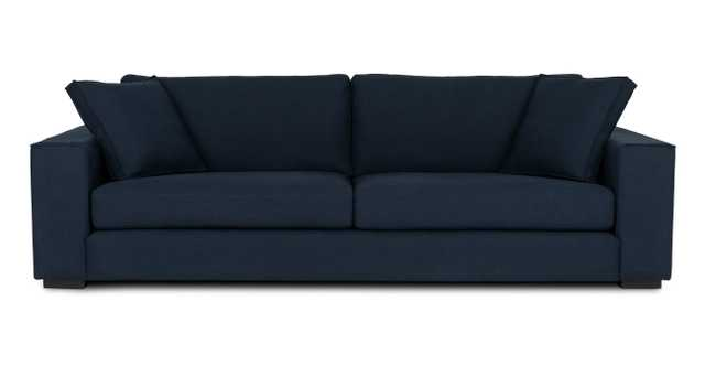 Sitka Oceano Blue Sofa - Article