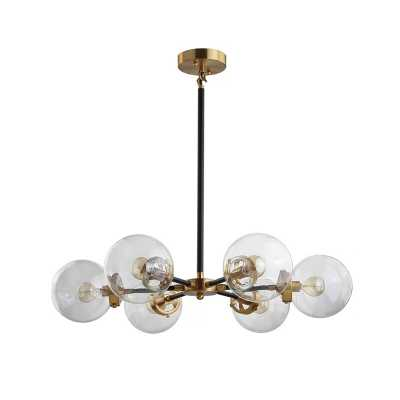 Howardville 6 - Light Sputnik Modern Linear Chandelier - Wayfair