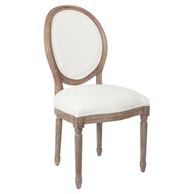 Haleigh Upholstered King Louis Back Side Chair - Wayfair