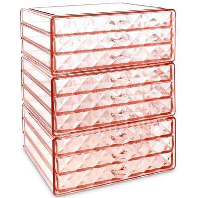 Dunsmuir Diamond Pattern Jewelry and Cosmetic Storage Makeup Organizer - Wayfair
