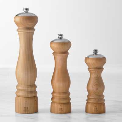 "Peugeot Paris Icone U Select Cherry Wood Salt & Pepper Mill Set, 7"" - Williams Sonoma"