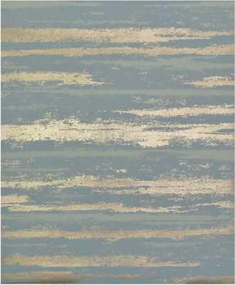 "Antonia Vella Atmosphere 32.8' L x 20.8"" W Metallic/Foiled Wallpaper Roll - Wayfair"