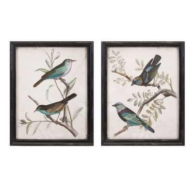 Maisly Bird Wall Decor - Ast 2 - Mercer Collection