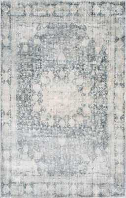 Asheville Rockwell Gray 5' 0 x 8' 0 Area Rug - Home Depot
