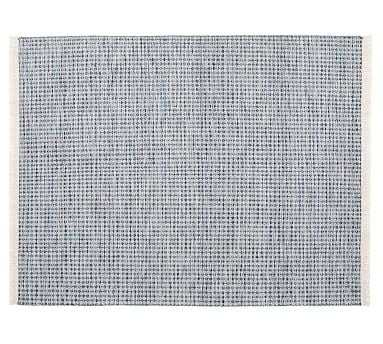 Oden Rug, 9 x 12', Blue - Pottery Barn