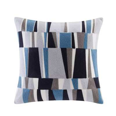 Lars Embroidered Throw Pillow - Target