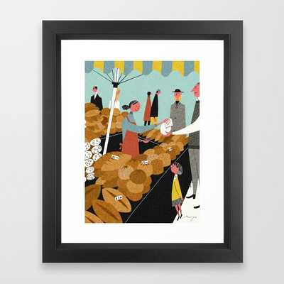 Market, London - Vector Black - Society6