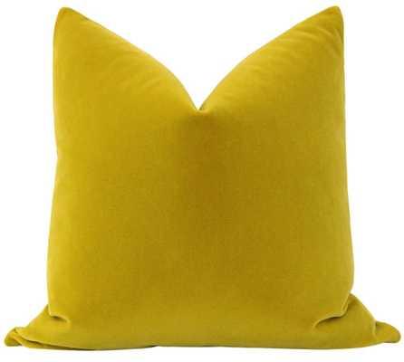Mohair Velvet // Chartreuse - Little Design Company