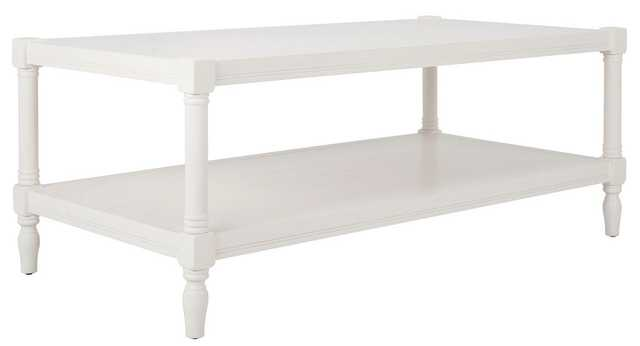 Bela Coffee Table - White - Arlo Home - Arlo Home