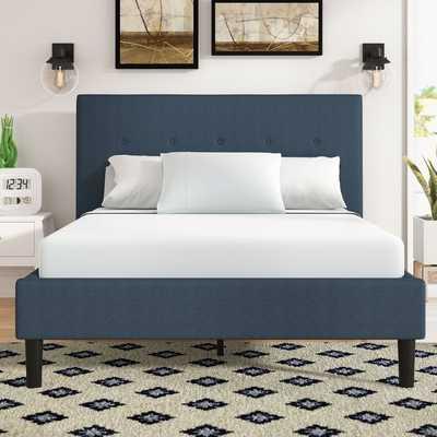 Jed Button Detailed Upholstered Platform Bed - Wayfair