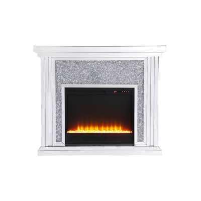 Abdiel Electric Fireplace - Wayfair