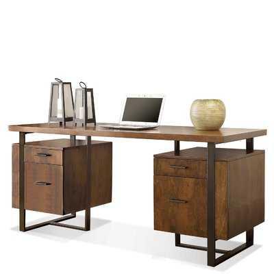 Alana Elizabethtown Double Pedestal Desk - AllModern