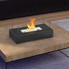 Utopia Ventless Portable Bio Ethanol Tabletop Fireplace - Wayfair