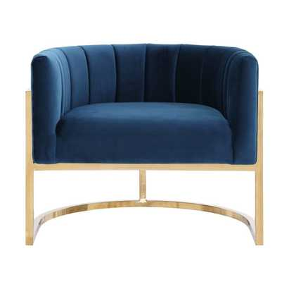 Camilo Chair, Navy - Studio Marcette
