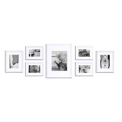7 Piece Spears Picture Frame Set - Wayfair
