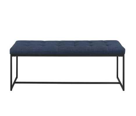"""Mardell 48"""" Upholstered Bench - AllModern"""