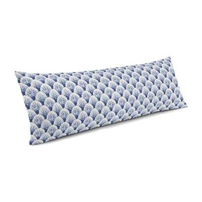 Large Lumbar Pillow  Sea Scallop - Marlin - Loom Decor