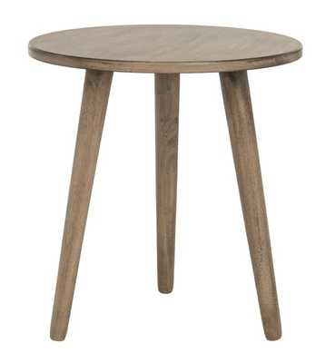 Orion Round Accent Table - Desert Brown - Arlo Home - Arlo Home