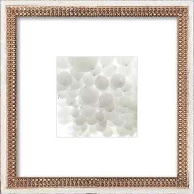 "All White - 8"" x 8"" - - Artfully Walls"