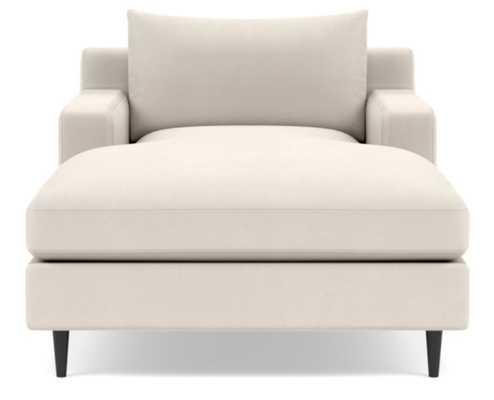 Sloan Chaise Chaise Lounge - Cream - Interior Define