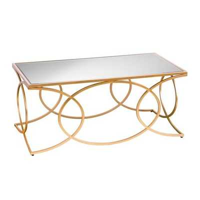 Dunlin Geometric Coffee Table - Wayfair