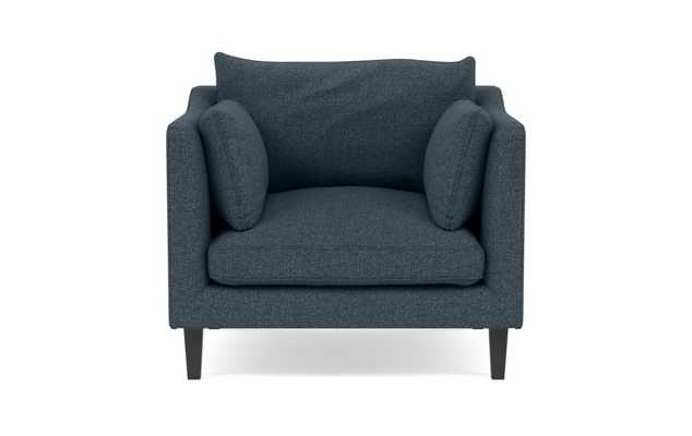 CAITLIN BY THE EVERYGIRL Accent Chair, painted black leg - Interior Define