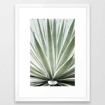 Tropical Century Plant Photography Framed Art Print 15 by Cata - Society6