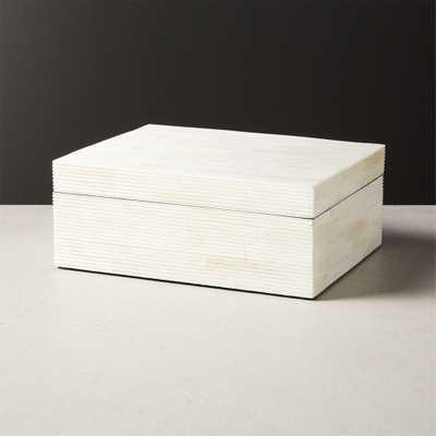 Maya Bone Inlay Box - CB2