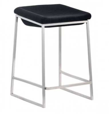 Lids Counter Stool Dark Gray, Set of 2 - Zuri Studios